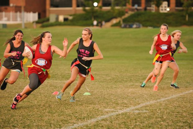 Image result for mixed flag football Games on campus