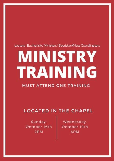 ministry-trainings
