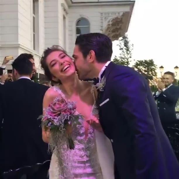 حفل زفاف أبطال مسلسل فاتح حربية