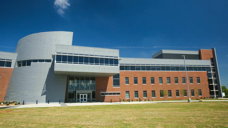 UAH Student Services Building