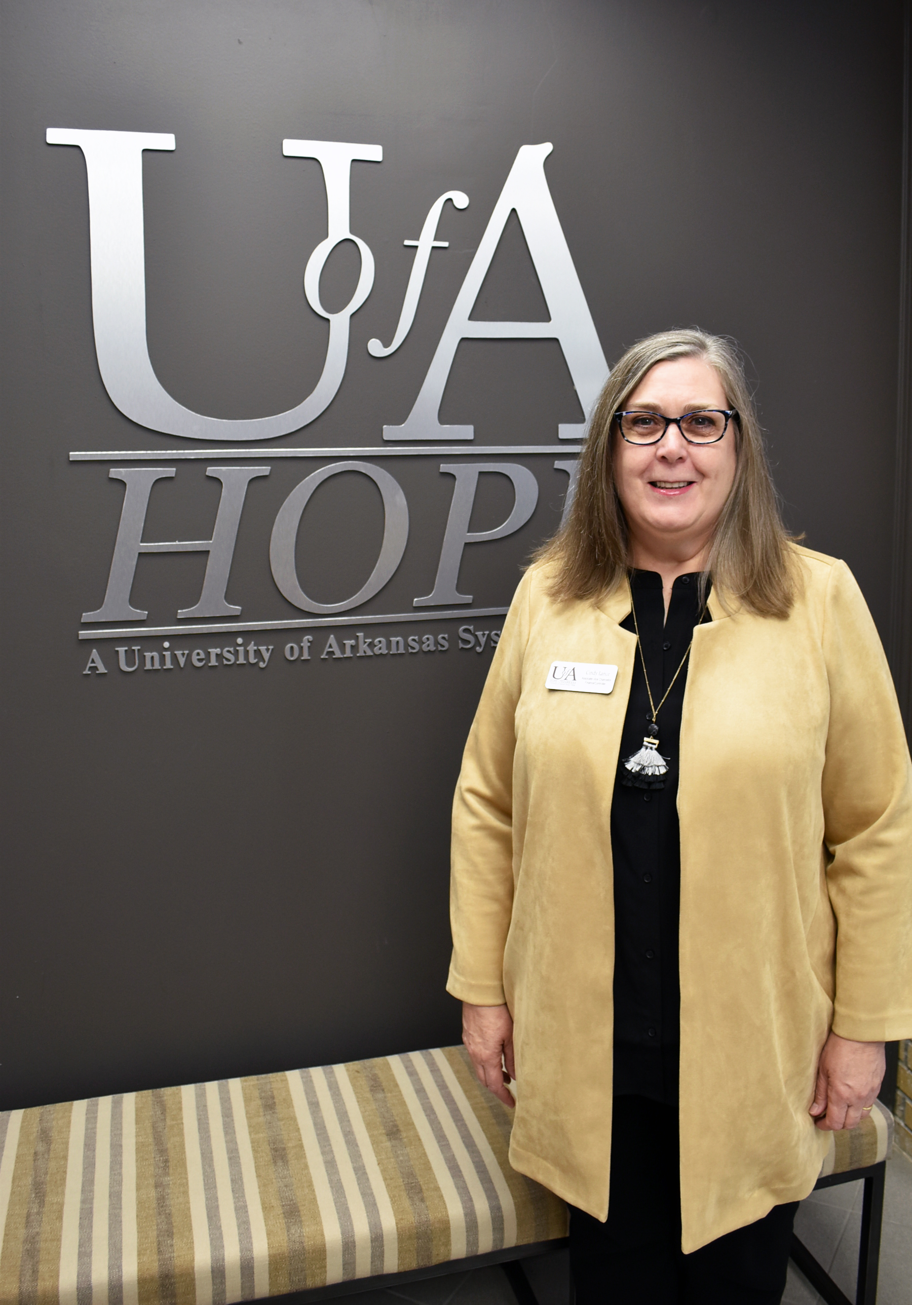 Cindy Lance, University of Arkansas Hope-Texarkana Vice Chancellor for Finance