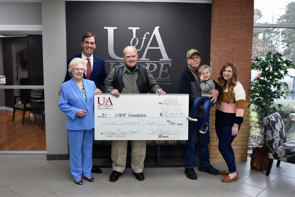 Lorenza A. Miears Memorial Endowed Scholarship Established at U of A Hope-Texarkana