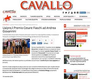 Cavallo Magazine novembre 2014