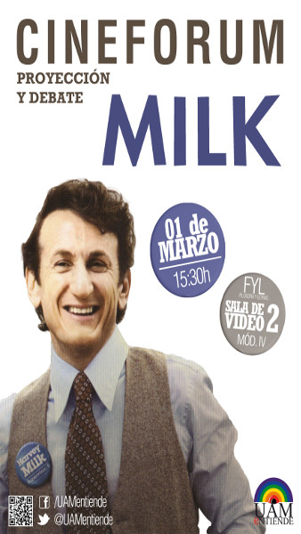 Cartel_Cinefórum_proyección y debate_Milk