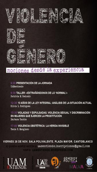 Cartel_Jornadas_Violencia de Género_2014