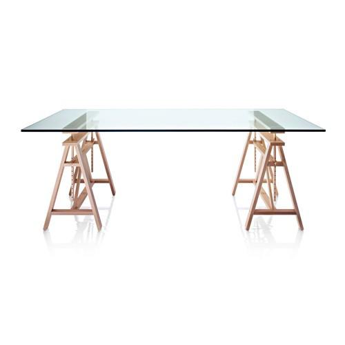 plateau pour table teatro verre trempe de magis