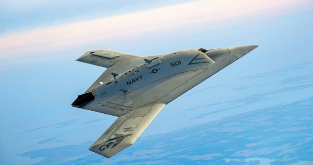Aerial Refuelling Test Of X 47b Imminent