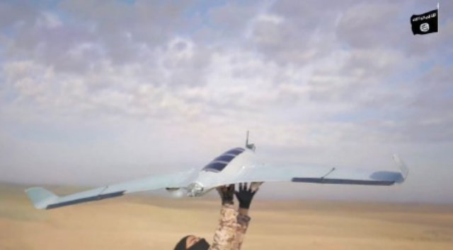 Screen capture from Islamic State video