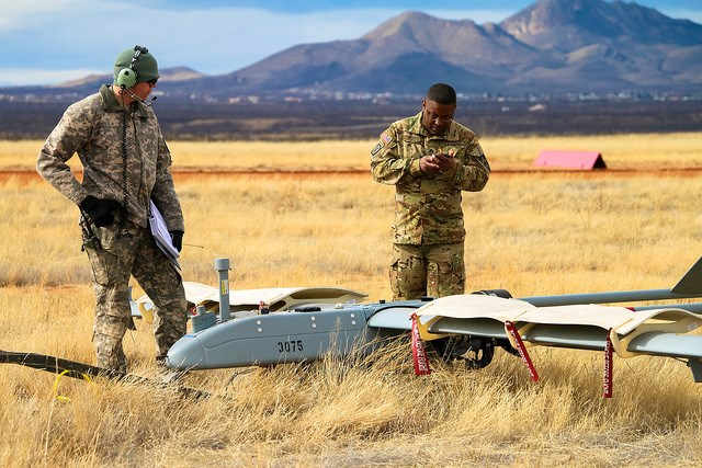JBLM Soldiers conduct UAS training for readiness-level progression at Fort Huachuca - Source: Fort Huachuca Public Affairs