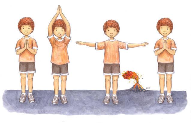 Yoga for Children: Volcano