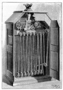 Kinetoscope Interior view
