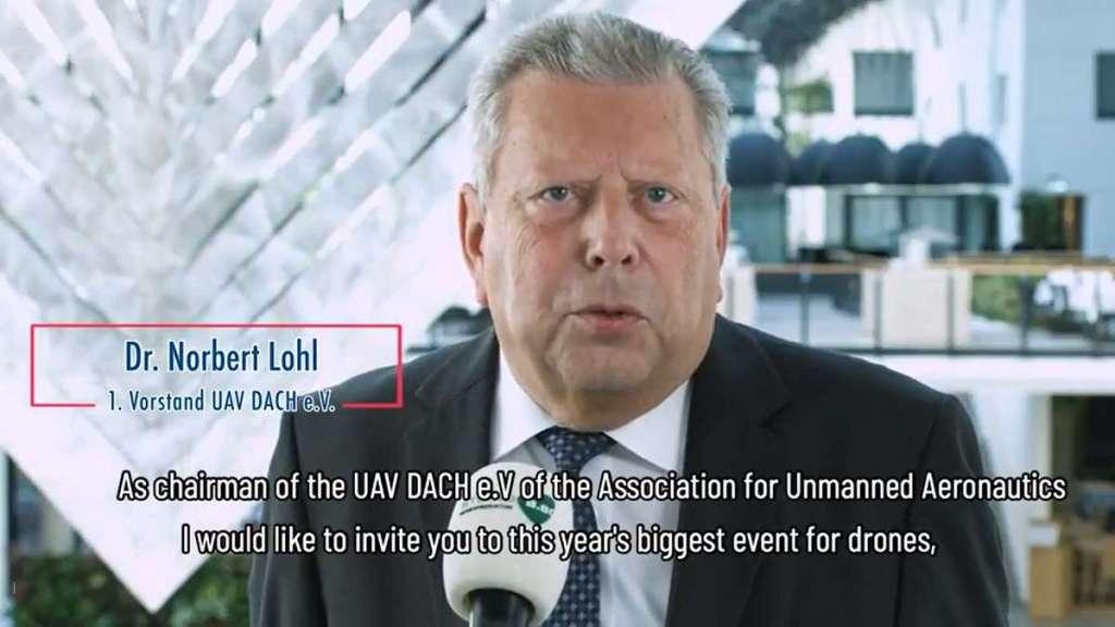 Norbert Lohl UAV DACH Einladung EDS2018