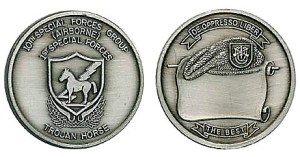 10th Special Forces Group Challenge Coin