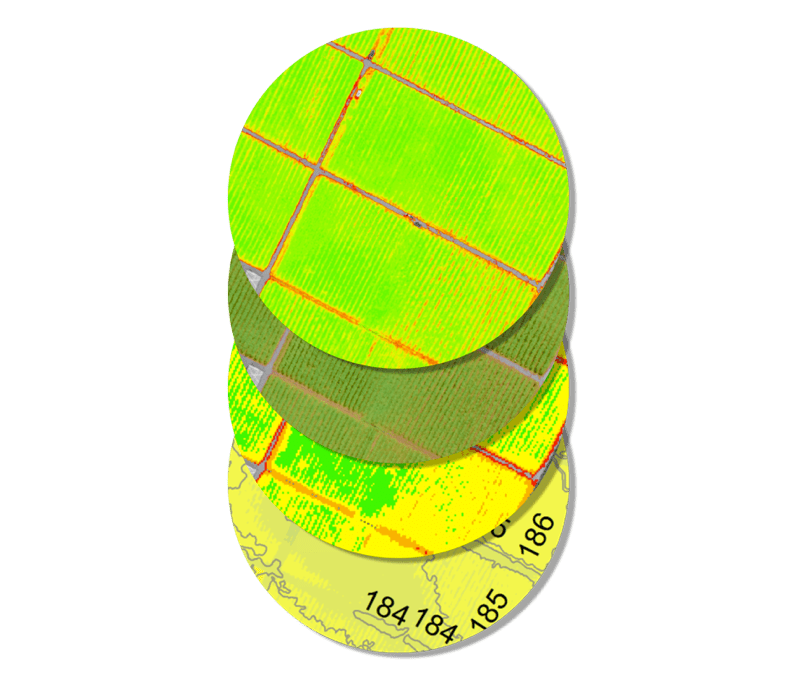multispectral, rgb, thermal imagery