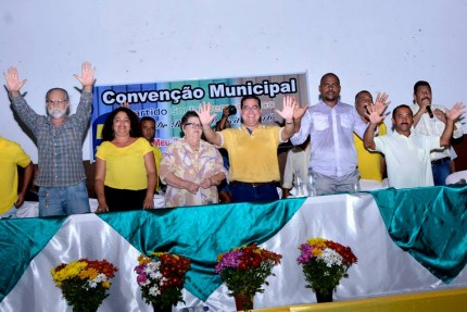 Isravan oficializa candidatura à reeleição (Foto: Lauro Brasil)