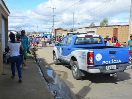 Adolescente morre atropelado em Conquista (Foto: Anderson Oliveira/Blog do Anderson)
