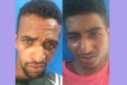 Dupla foi presa pela Polícia Militar (Foto: Ubatã Notícias)