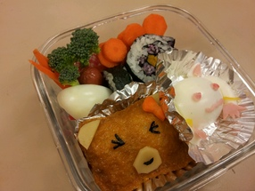 The UBC Cooking Club was happy to collaborate with us for a Bento Making Workshop