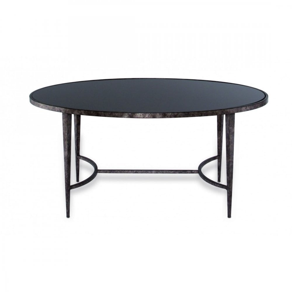 large salvatore oval coffee table by