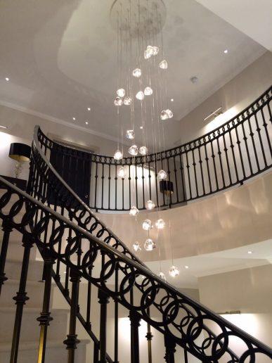 staircase pendant lighting uber
