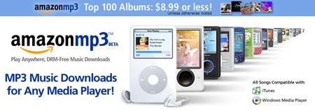 Tienda Amazon de MP3