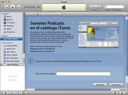 como publicar un podcast en itunes