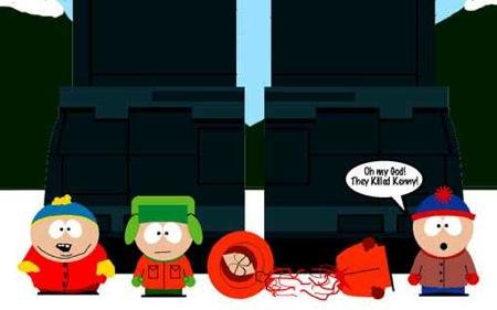 Hijos de puta… mataron a Kenny!