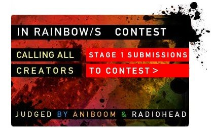 Concurso RadioHead Video In Rainbows
