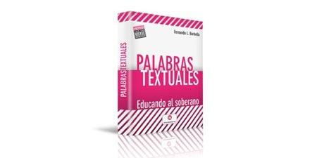 palabras textuales, el libro