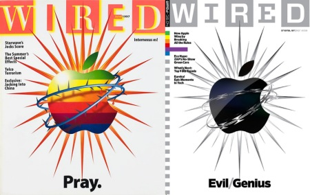 Tapa Apple de Wired