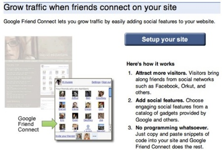 Google Friend Connect