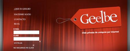 Geelbe, club privado de compras online