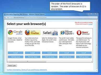 elegir navegador en windows 7