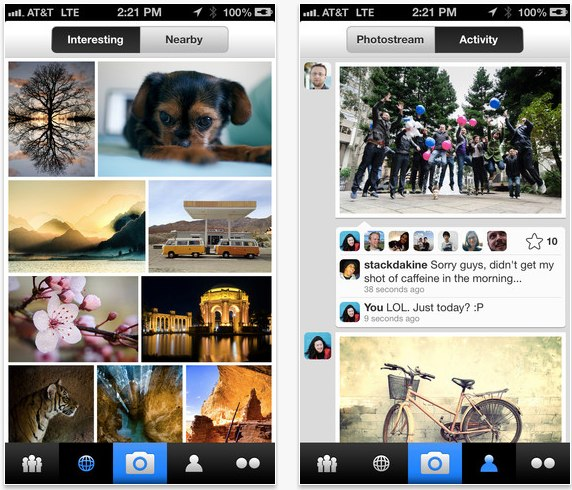 Flickr for iPhone, iPod touch, and iPad on the iTunes App Store