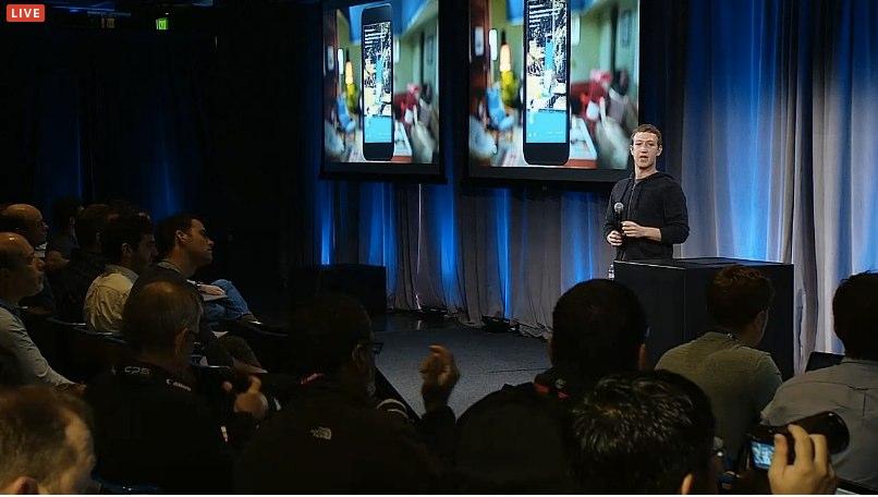 Facebook Home Zuckerberg