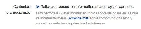 Twitter ads configuracion