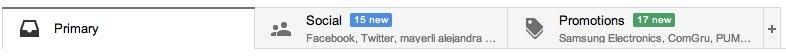 gmail bandeja de entrada