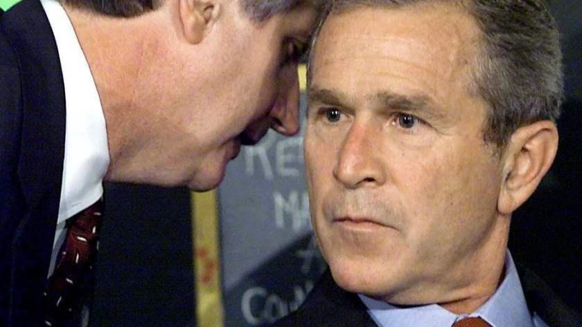 george bush noticia 911
