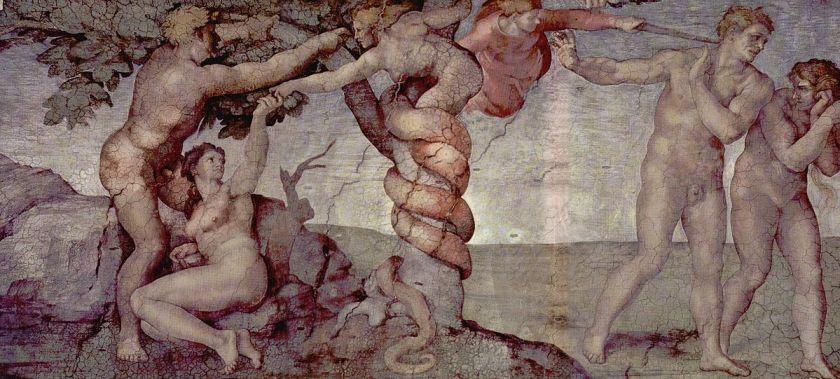 Michelangelo Buonarroti y el pecado original de la capilla sixtina