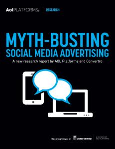Mitos Social Media Advertisigin Covertro SocialMediaMythBusting