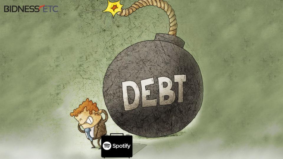 spotify deuda billon dolares