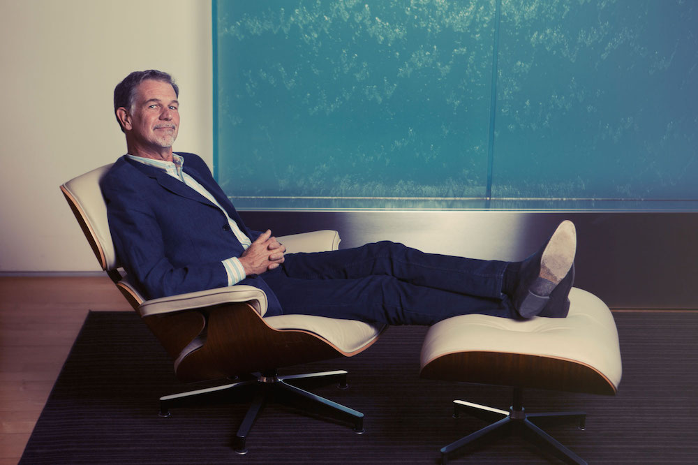 Reed Hastings netflix ceo