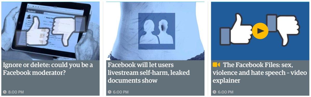 politicas de moderacion de facebook