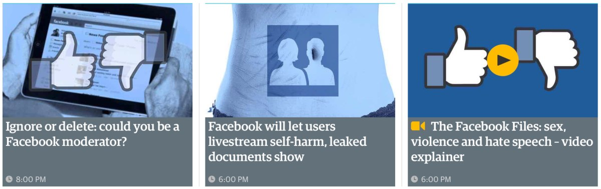 Las políticas de moderación de Facebook, una guerra que no pueden ganar