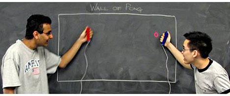 Wall of Pong now comes in laser