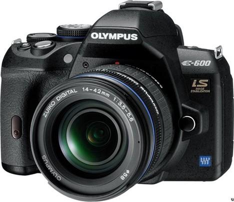 Olympus E-600 announced