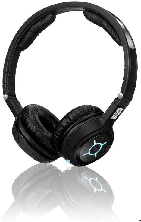 Sennheiser MM 400 and MM 450 Travel Bluetooth 2.1 headsets