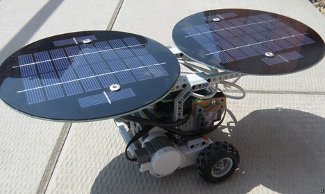 NXT robot gets solar power option