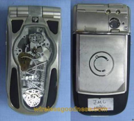 Celsius X VI II LeDix watch phone