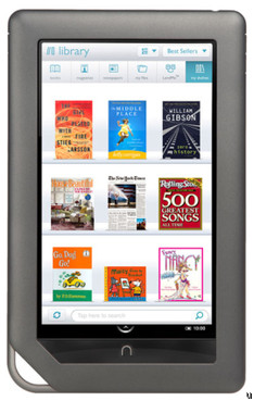 Barnes & Noble manufactures 18,000 Nook Colors each day